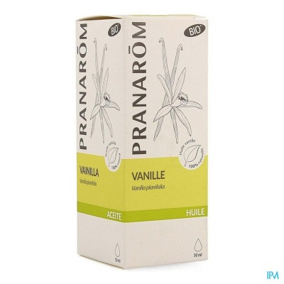 Vanille Plant.olie 50ml Pranarom