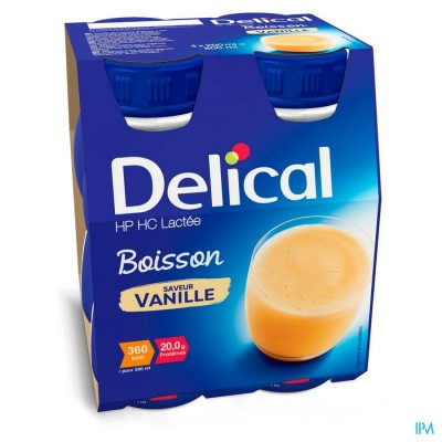 Delical Hphc 360 Vanilla 4x200ml