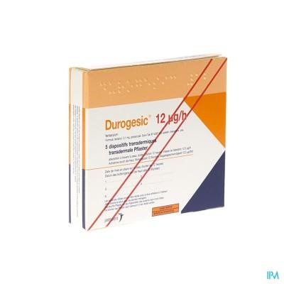 DUROGESIC PL EMP  5X  12MCG/HEURE/UUR