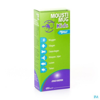 MOUSTIMUG KIDS MUGGENMELK SPRAY 75ML