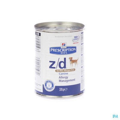 HILLS PRESCRIP.DIET CANINE ZD ULTRA    370G 8018U