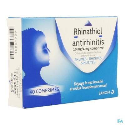 Rhinathiol Antirhinitis Tabl 40