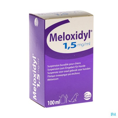 MELOXIDYL CEVA 1,5MG/ML FL GUTT 100ML