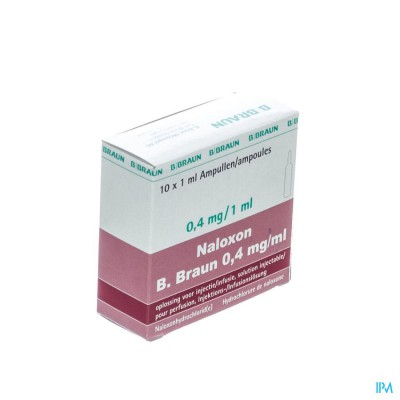 BRAUN NALOXON INJ 0,4 MG/ML 1 ML 10 AMP