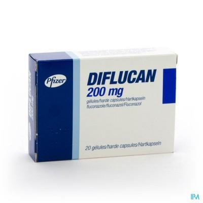 DIFLUCAN CAPS  20X200MG
