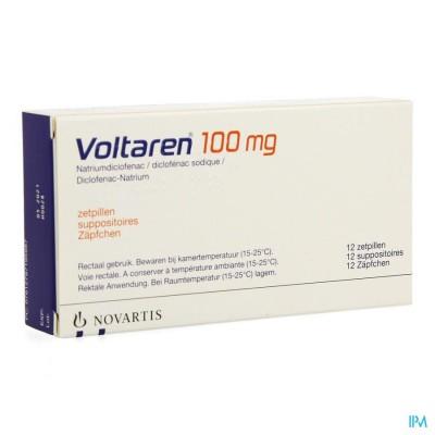 VOLTAREN SUPP 12 X 100 MG
