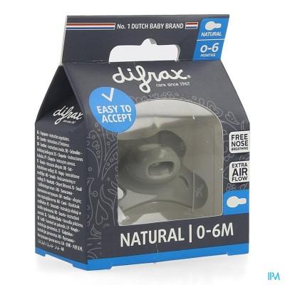 DIFRAX FOPSPEEN NATURAL 0-6M UNI/PURE ASSORTI