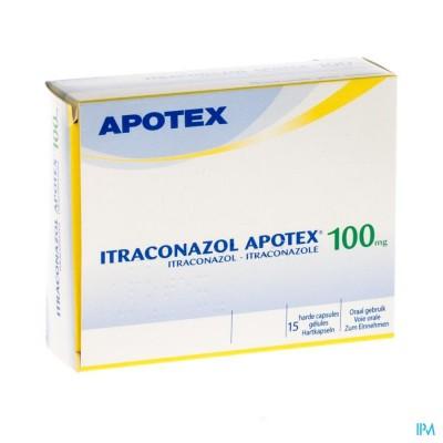 ITRACONAZOL APOTEX 100 MG CAPS 15