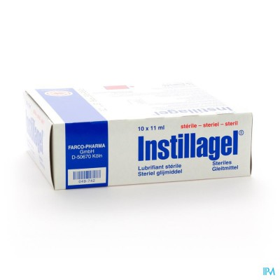 INSTILLAGEL MELISANA  10 X 11 ML