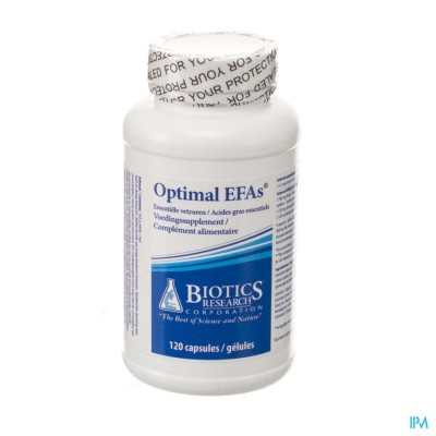 BIOTICS OPTIMAL EFAS 120 CAPS NM