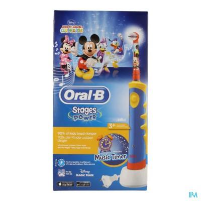 ORAL B PLAK CONTROL D10511 MICKEY BLUE