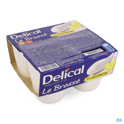 Delical Le Brasse Citroen 4x200g