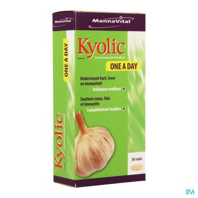 MANNAVITA KYOLIC ONE A DAY      TABL 30