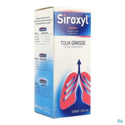 SIROXYL SIROP ENFANTS/KINDEREN 125ML 100 MG/5 ML