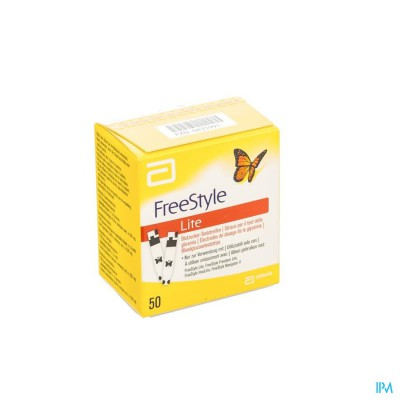FREESTYLE LITE STRIPS    50 7081270