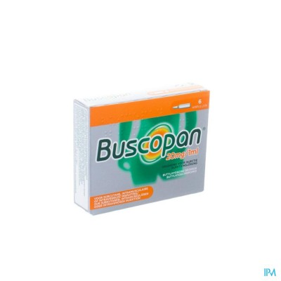 BUSCOPAN AMP   6 X 20 MG/1 ML