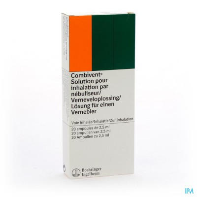 COMBIVENT VIAL MONODOSE 20X2,5ML